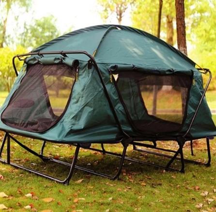 Палатка-кровать на 2 человека которая без труда помещается в багажнике авто