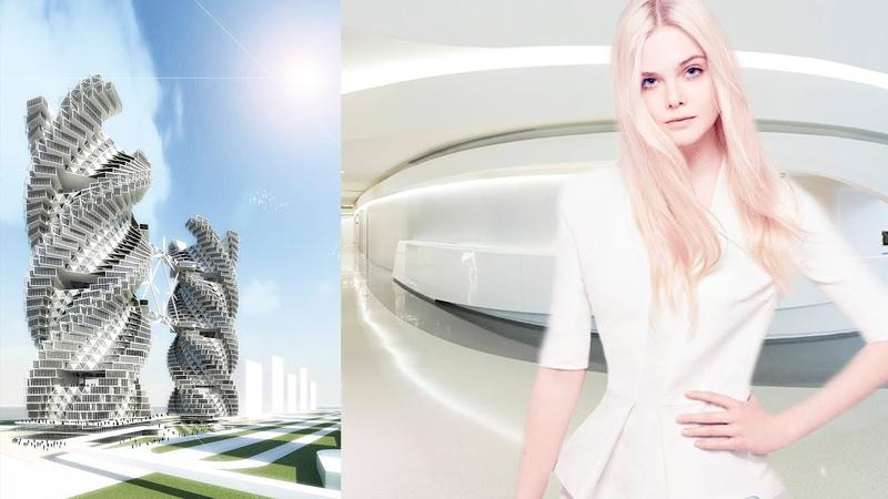 Целый город людей лежащих в капсулах РЕАЛЬНОСТЬ Белый город под куполом Нордические Пришельцы