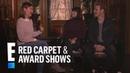 Sam Heughan Caitriona Balfe Talk Finding Home E! Red Carpet Award Shows