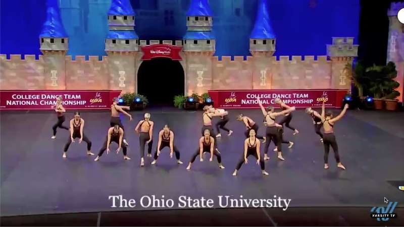 The Ohio State Jazz Routine Finals Performance UDA Nationals
