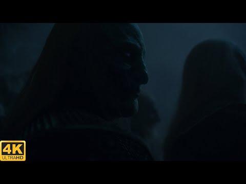 Арья убивает Короля Ночи Битва за Винтерфелл Игра Престолов Часть 10 Момент из сериала