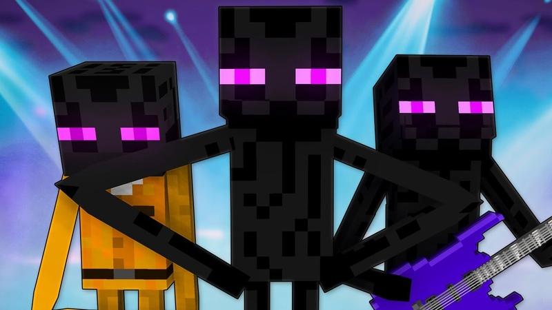 ЭНДЕРМЕН Майнкрафт Песня Enderman Minecraft Song Animation Parody RUS 13