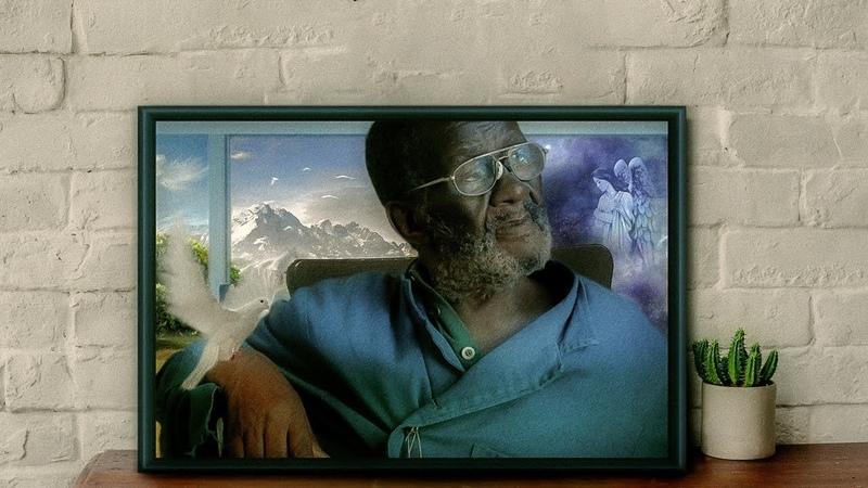 Vusamazulu Credo Mutwa Portrait | Photo manipulation in Photoshop