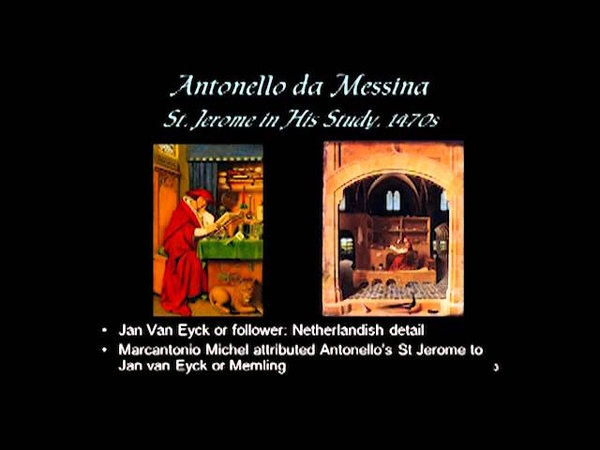 ARTH 4037 Antonello da Messina
