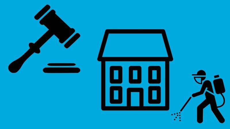 Решение суда об отмене предписания Роспотребнадзора о дезинфекции мест общего пользования в МКД