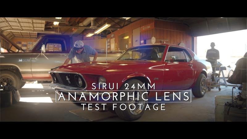 Sirui 24mm f2 8 Anamorphic Lens Test Footage Sony A7iii A7siii