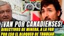 México lleva ante FGR a directivos de minera canadiense. Por eso Trudeau bloqueó los vuelos.
