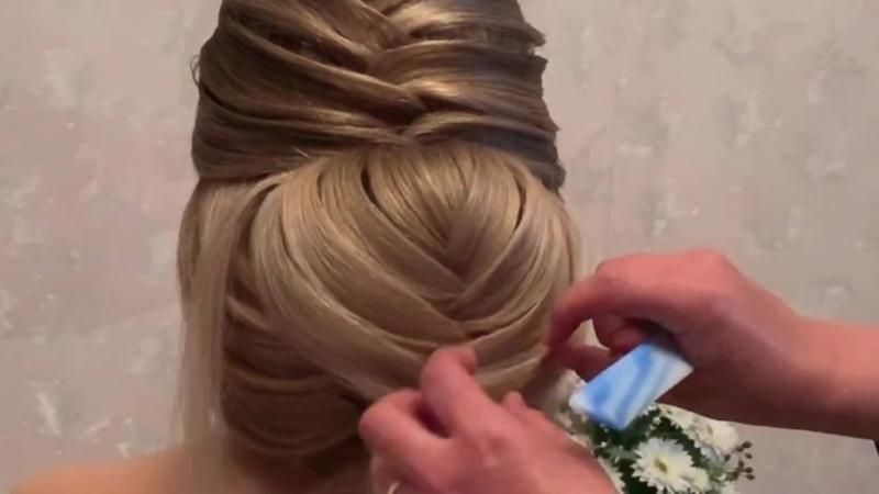 Hairstyle topuz oyren sacduzumu прическа hair