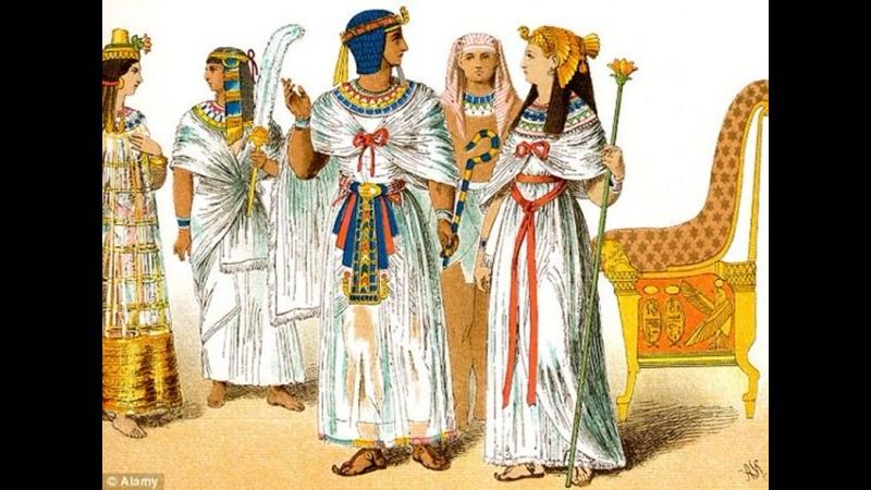 1 Рождение искусства BBC Сокровища Древнего Египта 2014