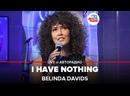 Belinda Davids - I Have Nothing Whitney Houston cover LIVE@ Авторадио