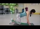 3 упражнения на ягодицы Тренировка с резиновой лентой