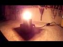 Простой деревянный светильник