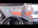Драка на дороге — Типичный Нижний Новгород