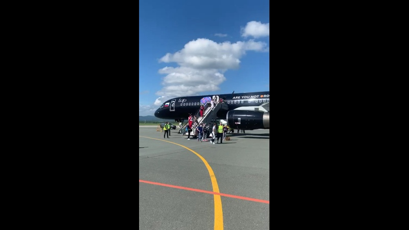 Видео от Международный Аэропорт Владивосток