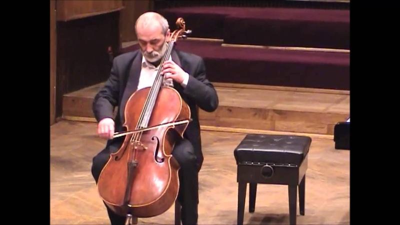 H Ernst The Last Rose of Summer for cello solo Andrzej Wróbel cello Jelenia Góra 2002