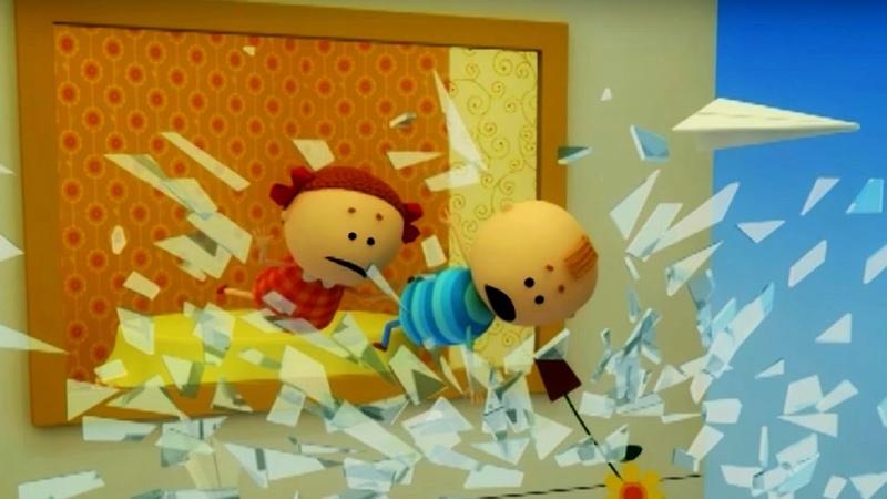 Аркадий Паровозов спешит на помощь Почему опасно залезать на подоконник мультфильм детям