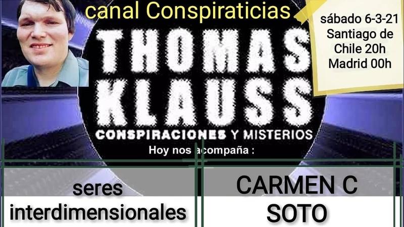 Seres interdimensionales Carmen C Soto
