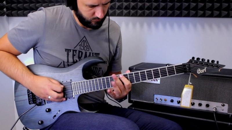 Cort X500 OPTG Guitar Demo