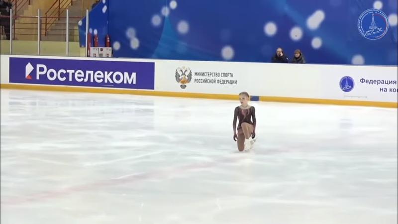 Любовь Рубцова Lyubov Rubtsova - Всероссийские соревнования Мемориал С.А. Жука 2021, КП