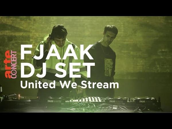 FJAAK DJ Set @ Kraftwerk Rummelsburg Berlin United We Stream ARTE Concert
