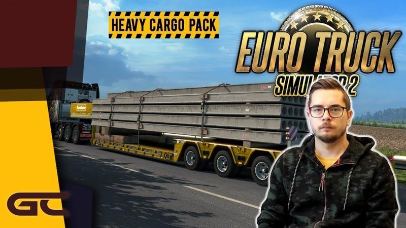 НИЗКОРАМНЫЙ ТРАЛ И НЕОБЫЧНЫЕ ГРУЗЫ ● Euro Truck Simulator 2 (1.39.0.10s) ● 17