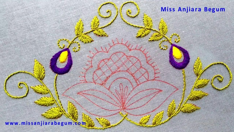 Creative Hand Embroidery Design Most Popular Hand Embroidery Work 2021Embroidery Home Decore-290
