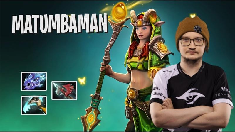 MATUMBAMAN Enchantress Dota 2 Pro Players Gameplay Spotnet Dota 2