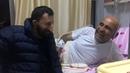 Köksal Baba Rıçıt'ı Hastanede Ziyaret Etti