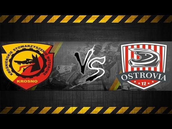 Speedway 2 Liga KSM Krosno vs Ostrovia Ostrów Wlkp 12 08 18