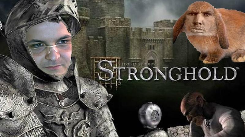 Жмиль варит эль и отбивается от кролей в Stronghold
