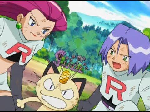 Pokemon Advanced Generation - Team rocket says goodbye to Arbok Weezing