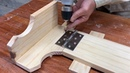 Amazing Idea Of Woodworking Never Limit - Build A Space Saving Foldable Utility Bed For Your Son