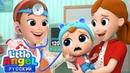 Первый Раз У Доброго Доктора 💊 Не Боимся! Развивающие Мультики Для Малышей Little Angel Русский