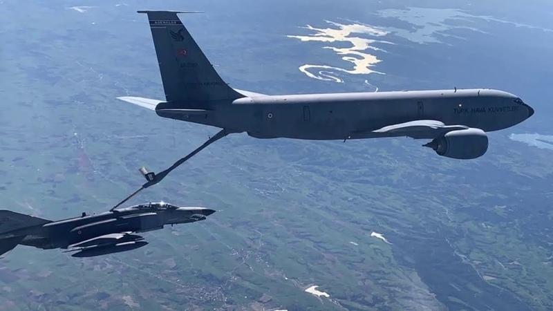 Hava Kuvvetleri Komutanlığımız Eğitim Uçuşlarına Devam Ediyor