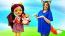 Кукла Энчантималс ищет питомца - Видео куклы для девочек - Фелисити, Лис и игры на пляже с Тойклаб