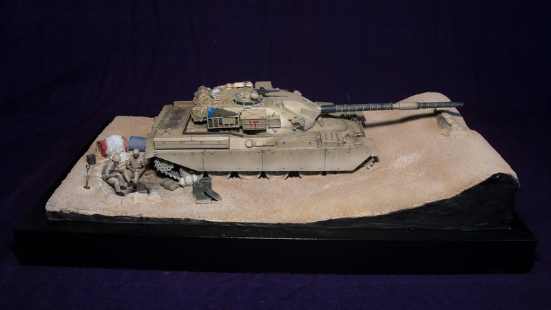IranIraq War 1980-88 - A 135 Diorama - Complete build