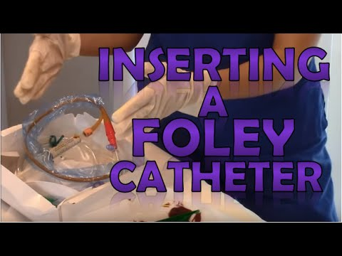 Foley Catheter Insertion Female | How to Insert a Foley Catheter Sterile Technique