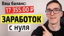 Как заработать на сайте от 17 000 рублей. Проверенный заработок на сайте с нуля доходные сайты