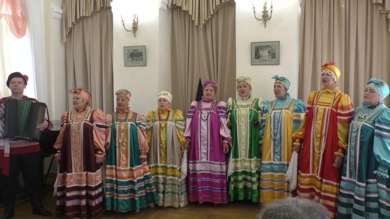 Духовный щит России - ансамбль Кумушки 24 апреля 2021 г в Концертном зале Полковая церковь