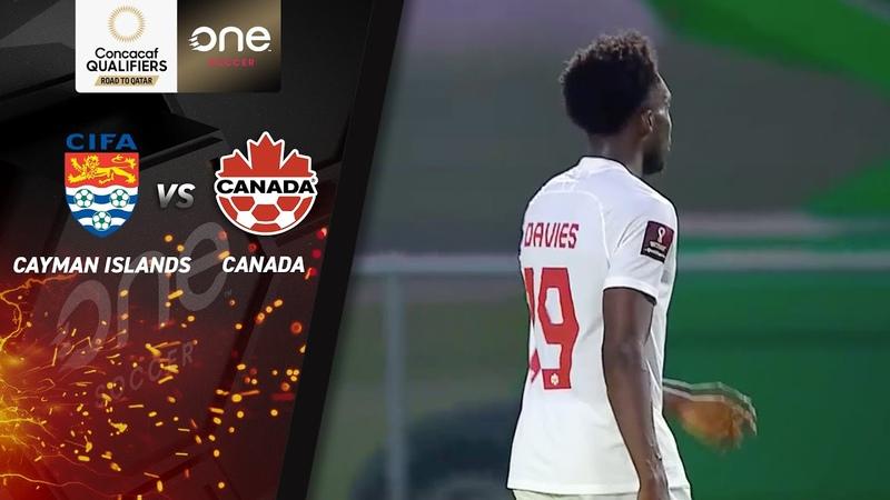 HIGHLIGHTS Cayman Islands 0 11 Canada CONCACAF Men's World Cup Qualifiers Qatar 2022