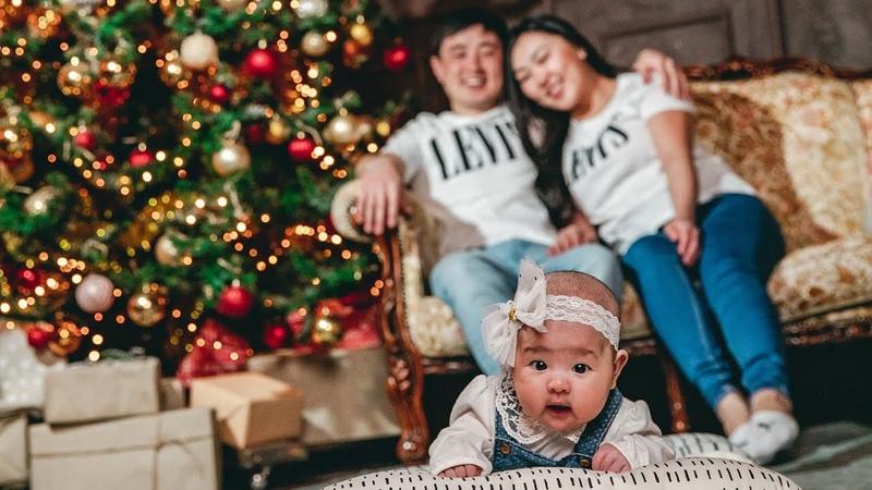 Семейная Новогодняя съёмка